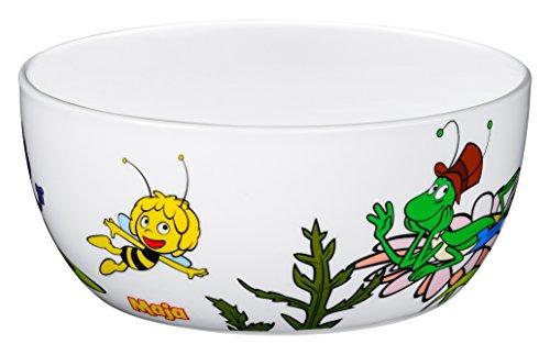 WMF Kindergeschirr Müslischale Biene Maja spülmaschinengeeignetes Porzellan