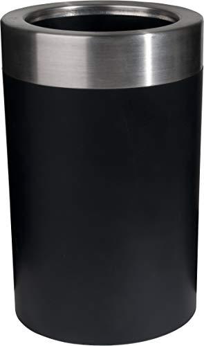 Emsa 507602 Flaschenkühler Soft-Touch Integriertes Kühlgel 6 St Kalt Gefriergeeignet Schwarz Thermo