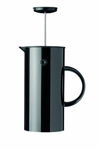 Stelton EM 1 l -schwarz Pressfilterkanne Kunststoff 14 x 14 x 22 cm
