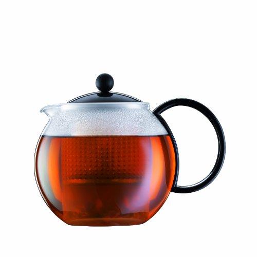 Bodum assam Teebereiter Kunststoffsieb Kunststoffdeckel 10 liters schwarz