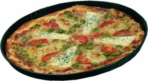 10 Stück Pizzablech Blaublech 32 cm Ø oben 30 cm Ø unten