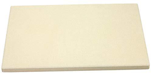 TG Pizzastein Brotbackstein Grillstein Flammkuchen Pide Lahmacun Stein auch für Ofen geeignet lebensmittelecht