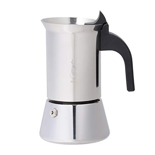 Bialetti Venus 4 Tassen EspressokocherInduktion  Edelstahl