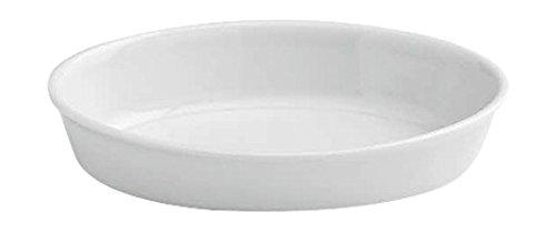 Tognana 28 x 18 x 6 cm PL Cook Auflaufform Oval weiß