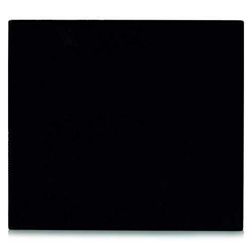 Zeller 26284 Herdblende-Abdeckplatte Glas schwarz