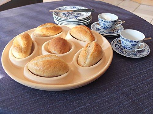 Brötchenbäcker- Die patentierte Backplatte frische Sonntagsbrötchen garantiert