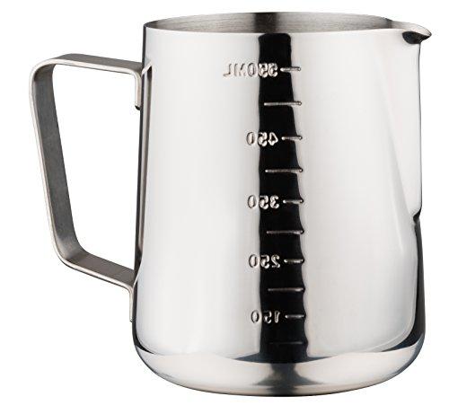 Luxpresso MilchkännchenMesskanneMessbecher mit Skala aus Edelstahl 550 ml
