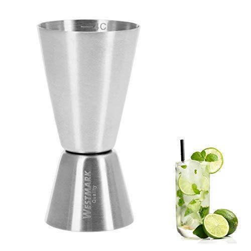 Westmark Kleiner MessbecherBarmaß Für Cocktails 2 Maßeinheiten 24 cl Rostfreier Edelstahl Silber 62772260
