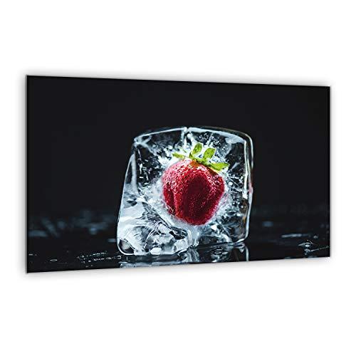 80x52cm XXL Glasherdabdeckplatte – Riesiges Schneidebrett – Spritzschutz – gehärtetes Glas – gehärtete – Keramik – kratz- und temperaturbeständig – Glasverlängerung – stoßfest – rutschfeste Füße