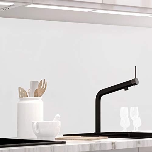 StickerProfis Küchenrückwand selbstklebend Pro Pure White 60 x 60cm DIY - Do It Yourself PVC Spritzschutz