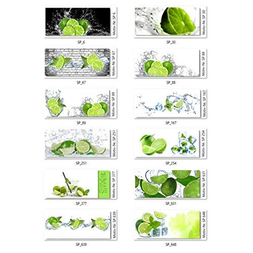 TMdesign Küchenrückwand - Limette - Spritzschutz AcrylGlas 60x50cm