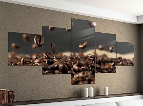 Acrylglasbilder 5 Teilig 200x100cm Kaffee Samen Kerne Coffee Bohnen Küche Druck Acrylbild Acryl Acrylglas Bilder Bild 14F873 Acrylgröße 11Gesamtgröße 200cmx100cm