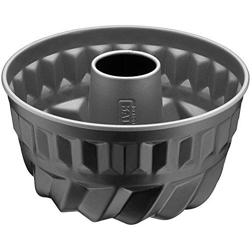Kaiser Inspiration Bund- Gugelhupfform Mini Ø 16 cm antihaftbeschichtet Backform für 12 Rezeptportion gleichmäßige Bräunung schwarz