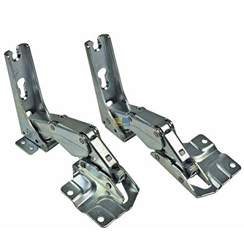 2x ORIGINAL Türscharnier Scharnier oben unten Kühlschrank Bosch Siemens 492680