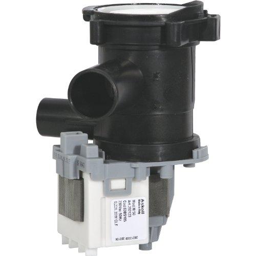 Alternativ Magnet Laugenpumpe Leistung 230 V  50 Hz  30 Watt Einlauf 24mm Ablauf 20mm wie Original Nr 144305 passend für Bosch und Siemens Geräte