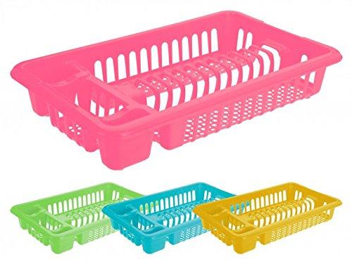 Abtropfgestell - blau rosa grün oder gelb - Abtropfgitter - Geschirr Abtropfkorb - Abtropfständer - Geschirrabtropfständer - Geschirrabtropfkorb FarbeRosa