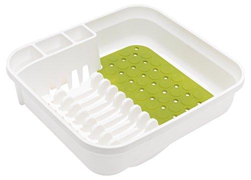Addis Kunststoff Premium Abtropfgestell weißgrün