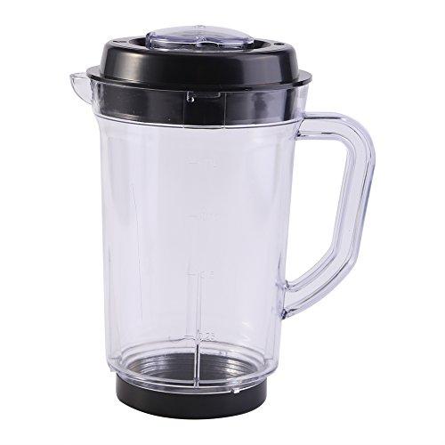 Entsafter Mixer Pitcher Ersatz Plastikbecher Küche Entsafter Messbecher 1000 ml Wasser Milch Becherhalter Für Magische Kugel