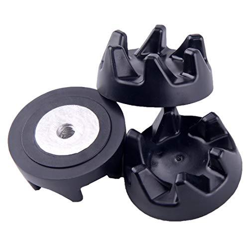 LETAOSK 3 Stück Ersatz-Gummikupplung Kupplung Kupplung für Kitchenaid Mixer 9704230 36x15cm 142x059inch DxH 06cm 024inch Center Hole Diameter