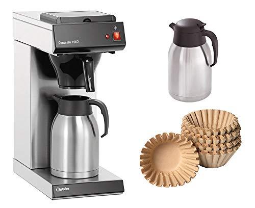Bartscher Kaffeemaschine Contessa 1002  1000 Korbfilter  2 Isolierkanne