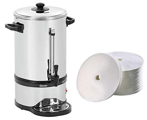 Bartscher Rundfilter Kaffeemaschine Pro Plus 100T  250 Rundfilter