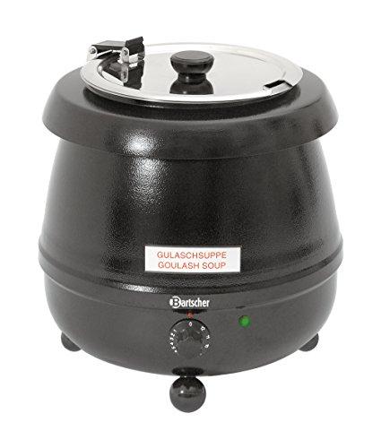 Bartscher Suppentopf 9 Liter Schwarz 100054