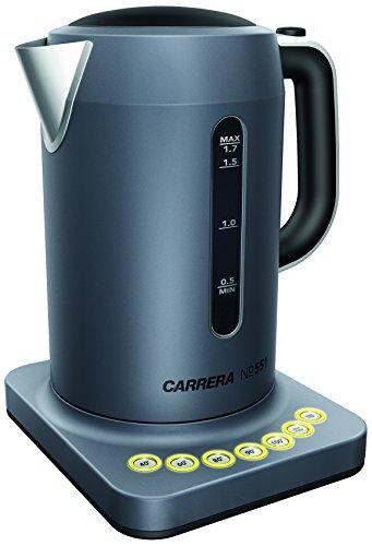 CARRERA Wasserkocher No 551 Edelstahl Temperatureinstellung Warmhaltefunktion 17 l