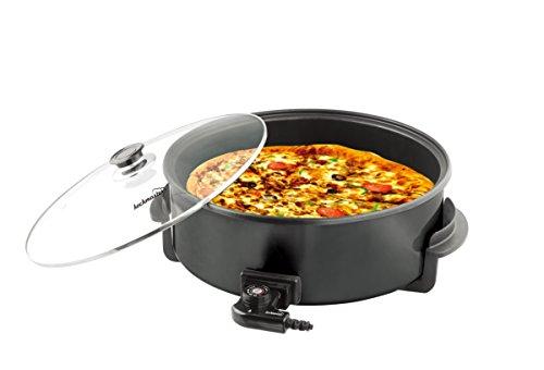 Kochmaster Elektrische Pizza Pfanne Ø 42 cm  11 cm Black