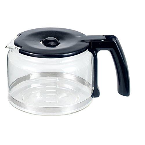 BEEM D2000654 Glaskanne mit Deckel für Fresh-Aroma-Perfect V2 Kaffeemaschine mit Mahlwerk