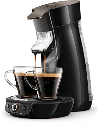 Philips Senseo HD656460 Viva Café Kaffeepadmaschine 1450 schwarz