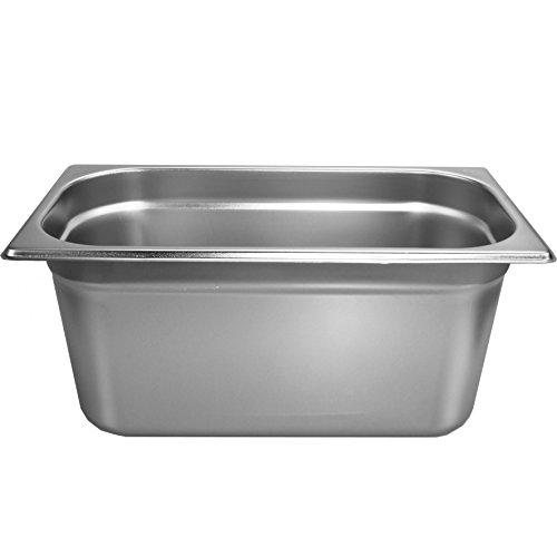 Gastronormbehälter 57 L 150mm Behälter 13 GN Edelstahl Gastro Gefäß Norm