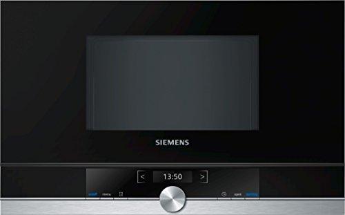 Siemens BF634RGS1 iQ539 Mikrowelle  900 W  21 L Garraum  Edelstahl  LED-Innenbeleuchtung