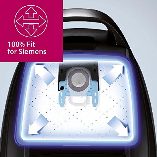 Siemens PowerProtect Staubsaugerbeutel VZ16GALL 16 Stück mit Verschluss effizienter Motorschutz 50 längere Nutzungsdauer alle Baureihen außer VS08 VS01