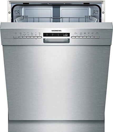 Siemens iQ300 SN436S04AE Unterbaugeschirrspüler  A  258 kWhJahr  2660 lJahr  6 Programme  3 Sonderfunktionen  grau