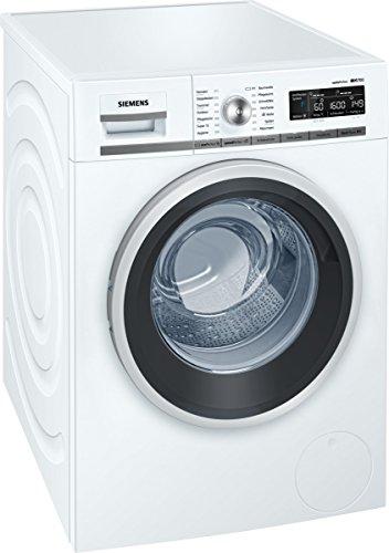 Siemens iQ700 WM16W540 Waschmaschine  800 kg  A  137 kWh  1600 Umin  Schnellwaschprogramm  Nachlegefunktion  aquaStop mit lebenslanger Garantie