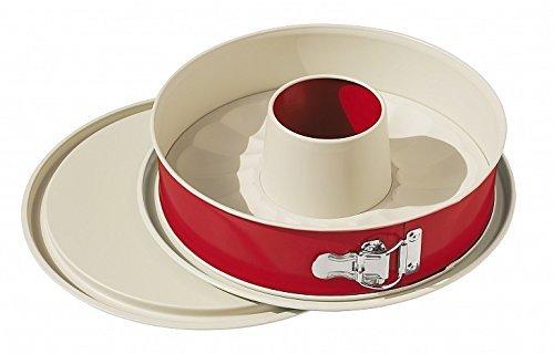 Alpfa Auslaufsicheres Springformen-Set 26cm in rotCreme Keramik RedCrème 26 x 26 x 75 cm