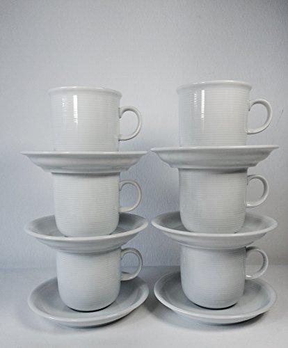 Rosenthal Thomas Trend Weiss Kaffeebecher Set 12tlg