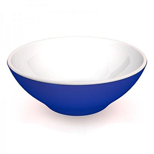 Ornamin Schüssel 2700 ml blau Melamin Modell 154  Suppenschüssel Salatschüssel Servierschüssel