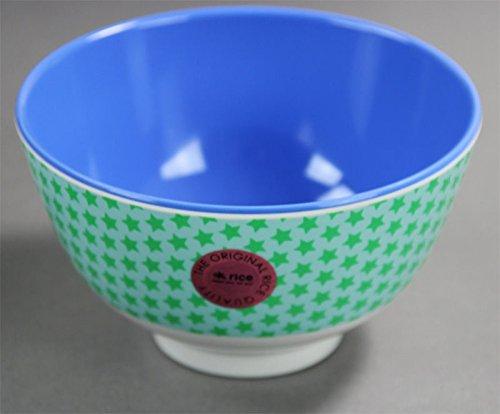 Rice Melamin Schüssel blaugrün mit Sternen MELBW-SSTAR14