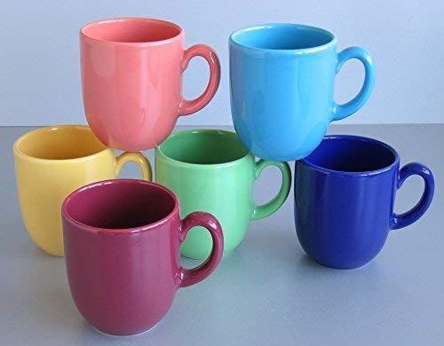 CreaTable 14014 Serie Top colours Geschirrset Kaffeebecher 6 teilig
