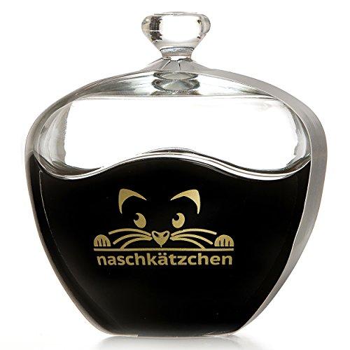 Ritzenhoff Breker Flirt Bonboniere Dose Bonbondose Keksdose Motiv Naschkätzchen Schwarz  Gold 686654