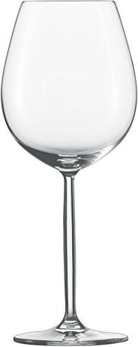 Schott Zwiesel 104096 Diva RotweinWasserglas Set Kristall farblos 10 x 10 x 247 cm 6 Einheiten