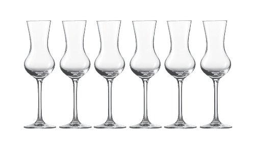 Schott Zwiesel Grappa Glas 155 6er Set Bar Special Digestif Schnapsglas Form 8512 113 ml 111232
