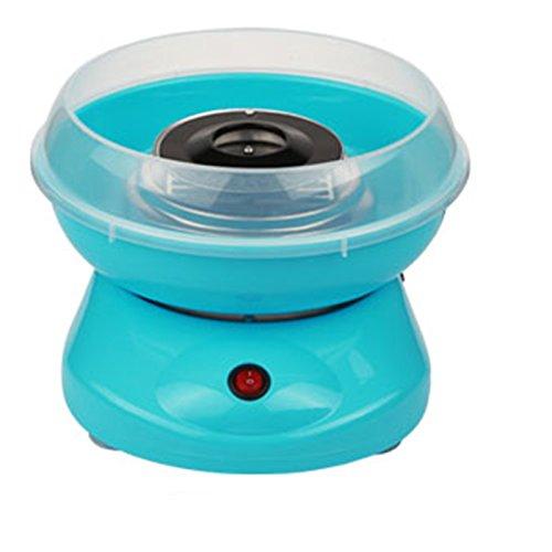 JUEYAN Zuckerwatte Maschine für Zuhause 450W Zuckerwattemaschine Weiß Blau Rosa Automat Zuckerwattegerät Cotton Candy Machine Blau