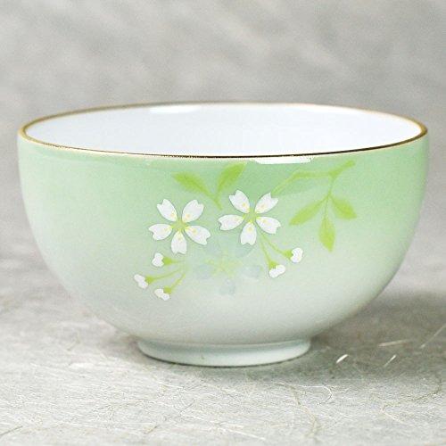 Teeschale Hana akari zarte japanische Teeschale mit Kirschblütenmuster