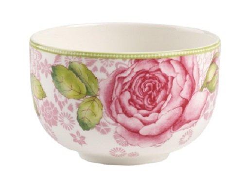 Villeroy Boch Rose Cottage Teeschale Premium Porzellan WeißPink