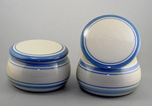 Unbekannt Original französische wassergekühlte keramik butterdose Nie mehr harte butter zum frühstück Ca 250 g butter Holland B-G