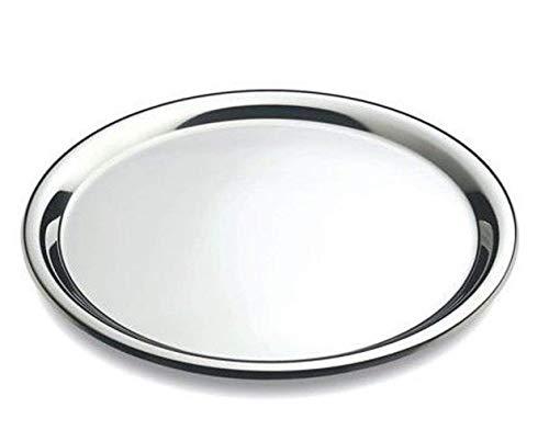 MGE - Tablett Rund - Serviertablett - Edelstahl - Ø 40 cm