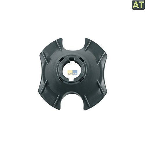 Europart 10027092 Messereinsatz Verriegelung Mixtopffuß Schwarz für Thermomix TM 21 TM21 Küchenmaschine wie Vorwerk