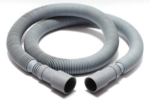 Drehflex - AblaufschlauchSchlauch für Waschmaschine und Geschirrspülmaschine - ausziehbar - von 12m - 4m möglich